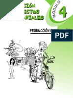 Generación de proyectos empresariales - Modulo 4