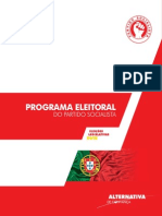 Programa Eleitoral do PS
