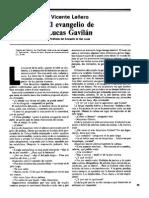 El Evangelio de Lucas Gavilán_Vicente Leñero