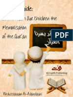 How to Teach Our Children the Memorisation of the Quran