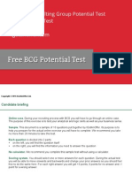 Free BCG Potential Test