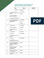 10 - declaração universal dh - valores e atitudes - atitudes em branco
