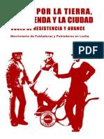 [2015] Movimiento de Pobladores en Lucha. Lucha por la tierra, la vivienda y la ciudad (Poblar Ediciones)