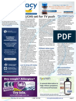 Pharmacy Daily for Thu 04 Jun 2015 - DDS/CHS set for TV push, RACGP outs homeopathy, ACCC Hospira inquiry, Travel Specials and much more