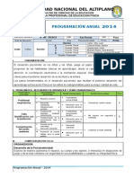 PROGRAMACION 2014 juliaca