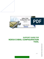 Nokia Email Conf Tool Installation and Support Guide