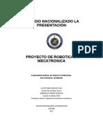 Proyecto de Robotica y mecatronica