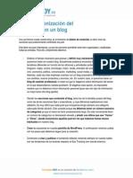 167 2.3.2.5 Organizacion Del Contenido en Un Blog