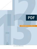 Jahresbericht der Atlantikbrücke 2012-2013