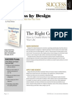 Happiness By DesignSummary (1) - Success Magazine Book Summaries