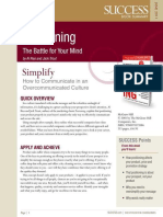 Positioning Summary - Success Magazine Book Summaries