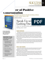 Power Positive Confrontation Summ - Success Magazine Book Summaries