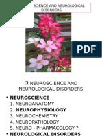 Neuroscience and Neurological Disorders