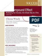 The Compound Effect Summary - Success Magazine Book Summaries