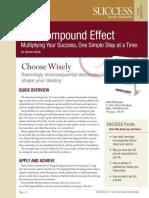 The Compound Effect Summary - Success Magazine Book Summaries