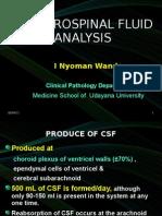 CSF Analisis Dr Wande, 2011 FK