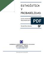 Curso Básico de Estadística y Probabilidad. Programa