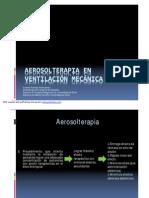 Aerosolterapua en Ventilacion Mecanica