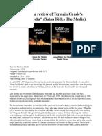 Varg Vikernes Review Torstein Grude Satan Rir Media Satan Rides the Media.odt