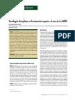 Tecnologías Disruptivas en La Educación Superior El Caso de Los MOOC Antonio Medrano