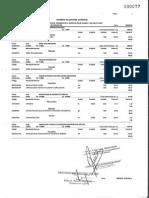 Analisis de Costos - Señalización