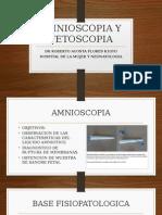 Amnioscopia y Fetoscopia
