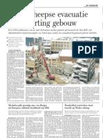'We moesten even denken aan Luik' en 'Net een aardbeving', waren uitspraken die gisteren rond de middag in de inkomhal van Den Bell werden genoteerd.
