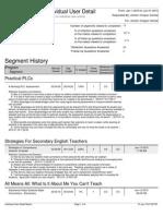 edivate professional development report
