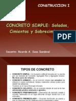 Concreto Simple