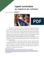 KURIKULUM ANAK USIA DINI - Emergent Curriculum