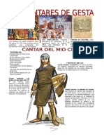 Infografia Los Cantares de Gesta 2