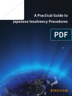 A Practical Guide to Japanese Insolvency Procedures