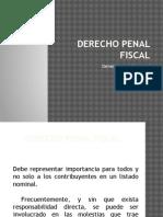 3.4 Derecho Penal Fiscal