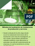 Localización de La Planta