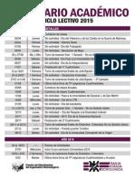 Calendario Academico UTN BA 2015