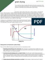 Fundamentals of Grain Drying