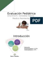 Evaluación Pediátrica