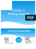 NEW Chapter 7 - Pricing Concept