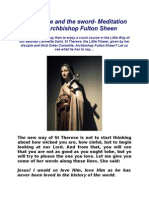 Fulton Sheen on St. Therese