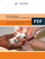 Who Hand Hygiene in Health Care