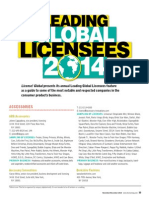 Leading Global Licensees 2014