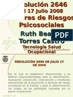 Resolucion 2646 17 de Julio 2008