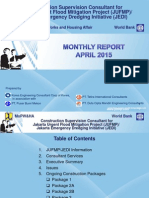 Monthly Report April 2015 - JUFMP/JEDI