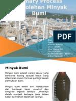 Primary Process of Petroleum Refinering