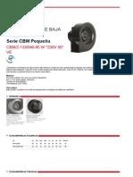 caracteristicas ventilador centrifugo