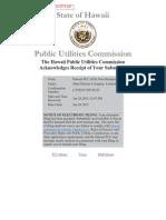 Feb 2015 Energy Cost Adjustment - Maui Electric Co Ltd (Molokai)