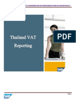 Branch Vat Reporting Thailand