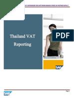 Branch Vat Reporting Thailand