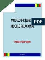 Modelo ER Continuação_Modelo Relacional_AULA 03