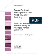 Praxis Note 3 Cross Cultural Management Knowledge Transferability